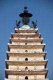 The Bai-style Xisi Ta or West Pagoda dates originally from the Tang Dynasty (618 - 907), but at this time Kunming was part of the Nanzhao Kingdom.<br/><br/>  Nanzhao (also Nanchao and Nan Chao) was a Buddhist kingdom that flourished in what is now southern China and Southeast Asia during the 8th and 9th centuries.